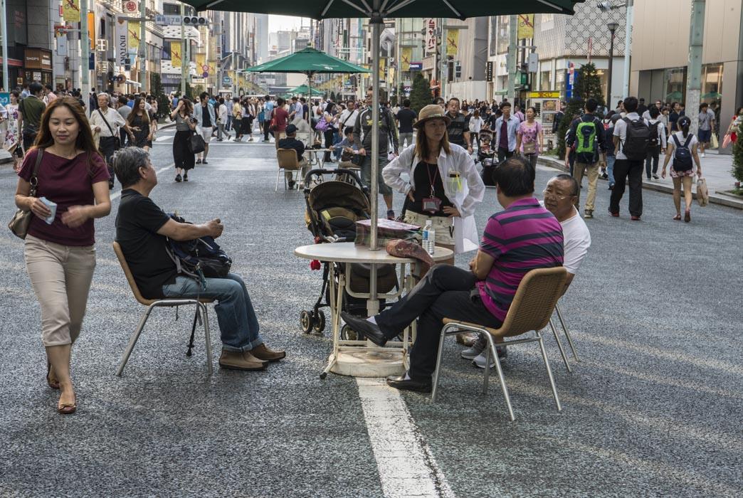 TE KOOP  GINZA STREET 90x60 cm