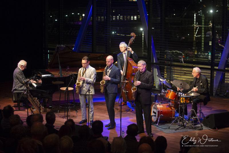 Rein de Graaff Trio met Alto Madness Benjamin Herman, Maarten Hogenhuis en Marco Kegel