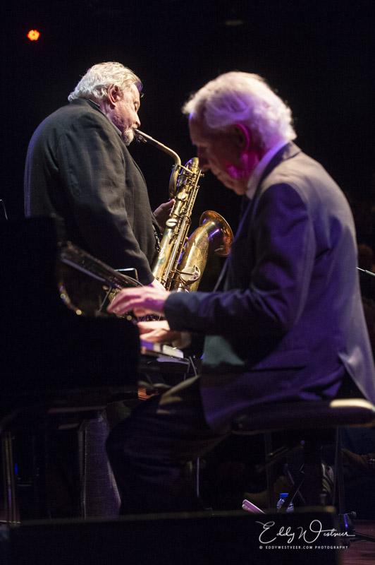 Ronnie Cuber en Rein de Graaff